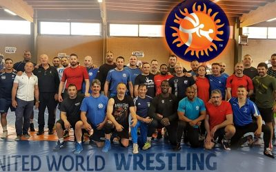 Wrestling Level 2 Course held in Italy