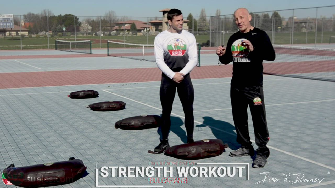 How to build Strength with the Bulgarian bag