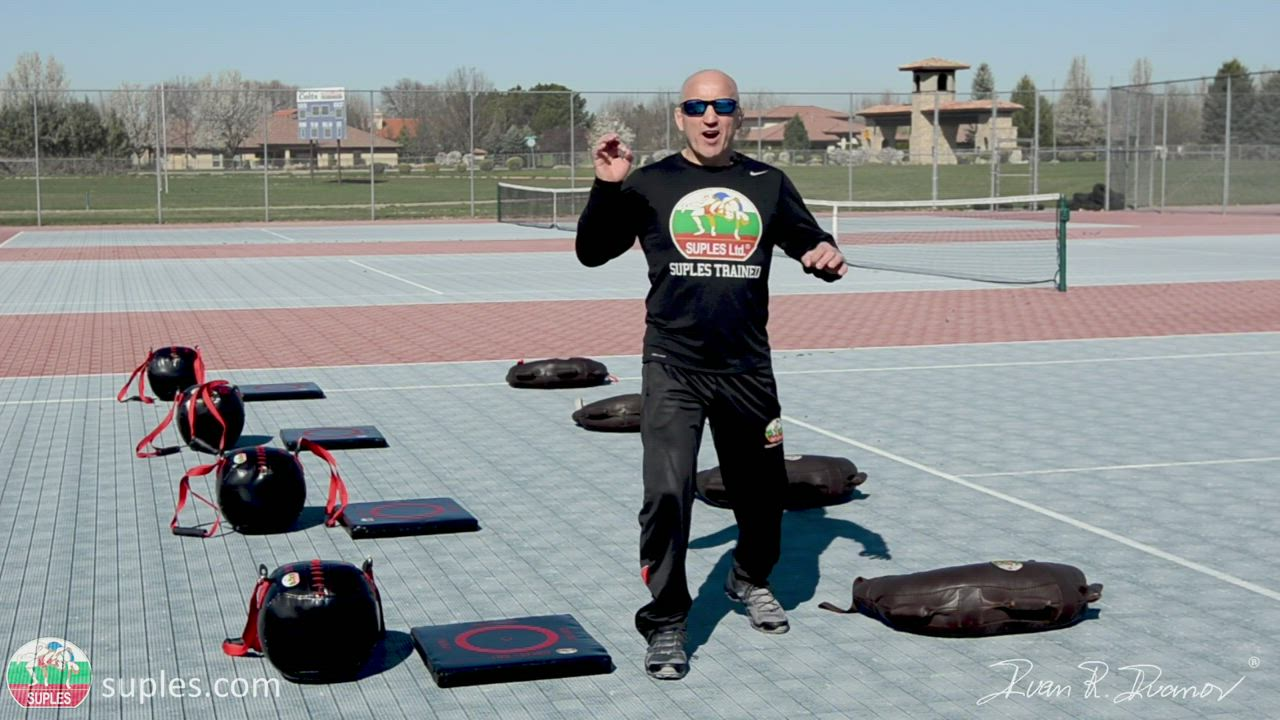 How to structure Suples Strength and Conditioning WORKOUT combining the Bulgarian Bag and Suples BALL