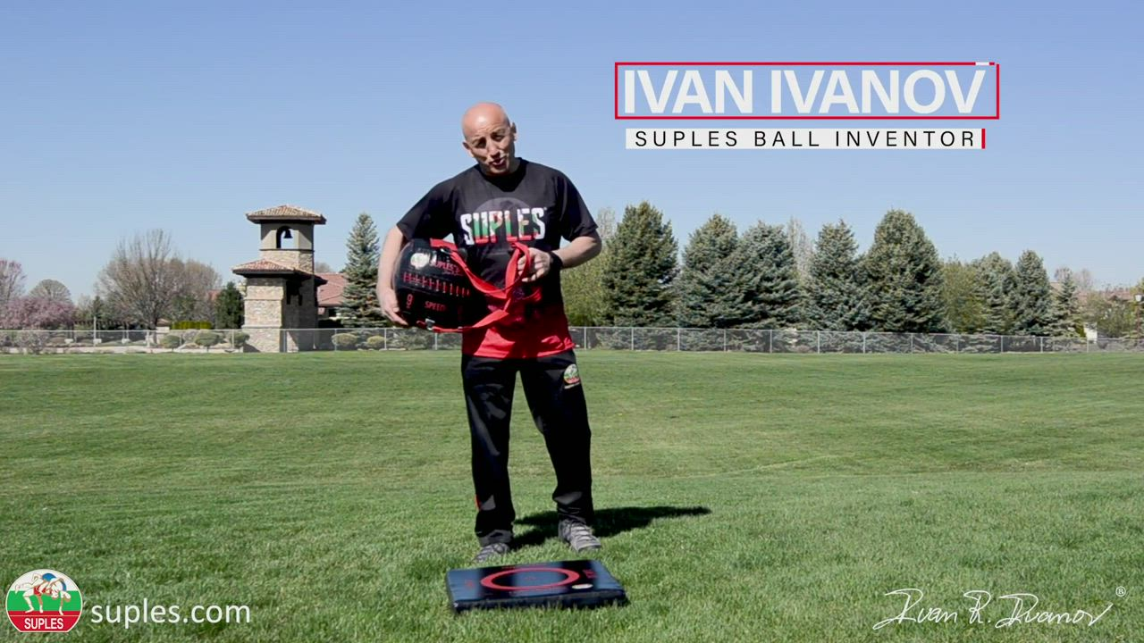 Instructions of how to properly perform Suples Ball Slams