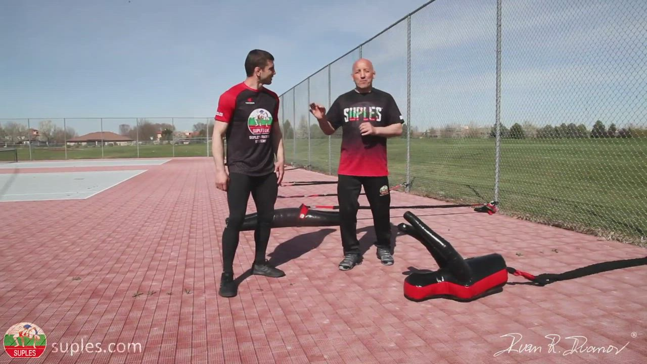 The Suples Fresh Air Gym – Coaching tips and Wrestling drills all within a great outside Workout