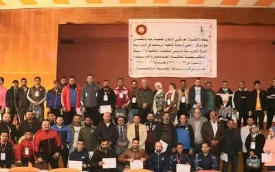 Iraq federation Organized referee course for new , national and international referees