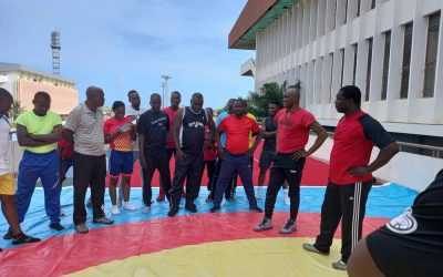 Benin Wrestling Federation Conducts Level 2 Course on Introduction of Refereeing and Wrestlers